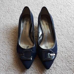 Used Anne Klein kitten heels